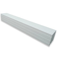 Trugard Shower Curb white 36 inches