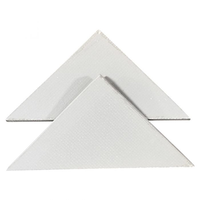 Triangle shower shelves