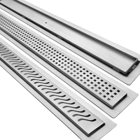3 styles of Trugard Linear Drains