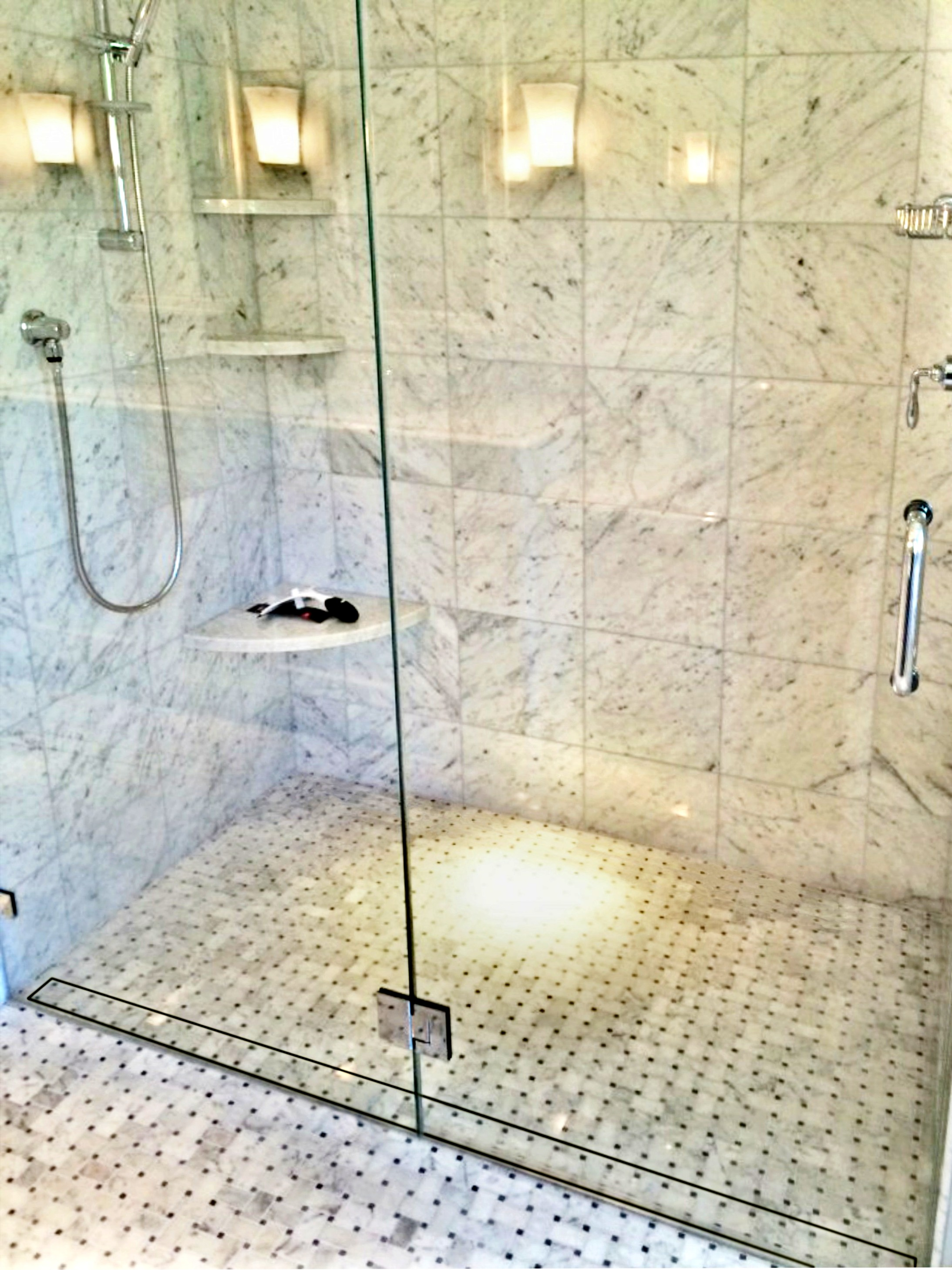 Top 5 Reasons More People Than Ever Are Switching To Curbless Walk In  Showers With Linear Drains