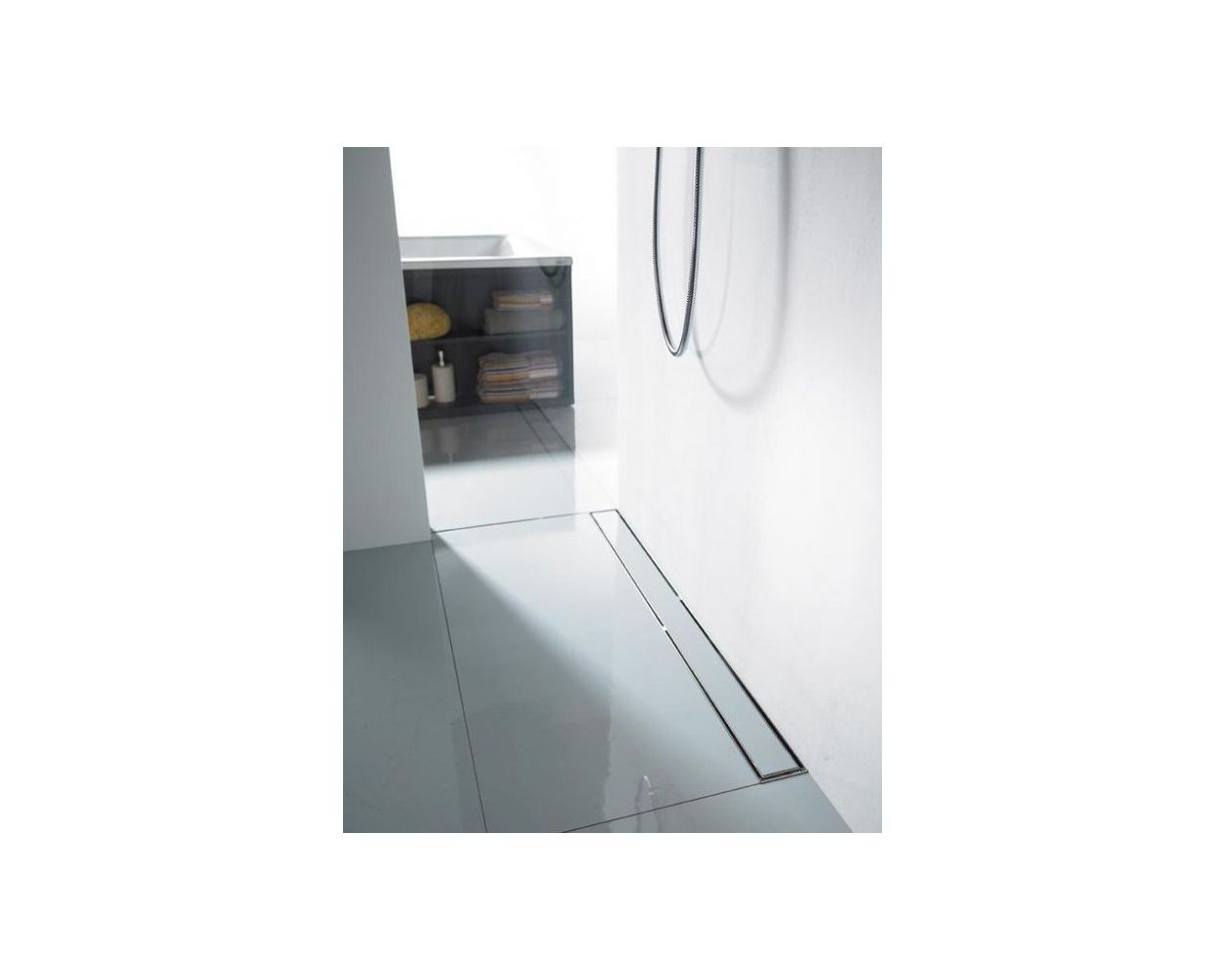 Easy Curbless Shower Pan System