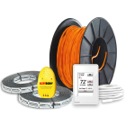 Build Your Own Radiant Heated Flooring Kit with Cable Straps